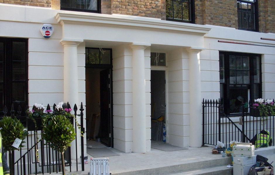 Trinity Street External Mouldings