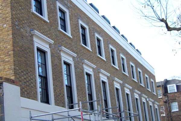 Trinity Street Houses Trinity Street Architrave and Over Windows