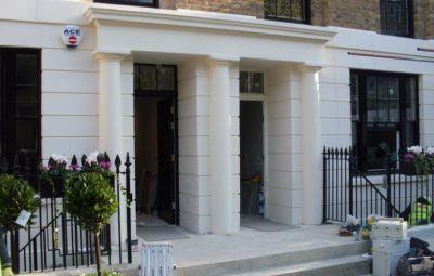 Trinity Street House Entrance