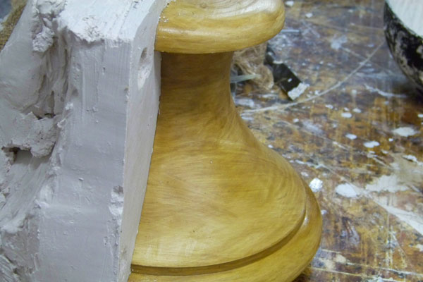 Hereford Square Roof Vase Mouldings