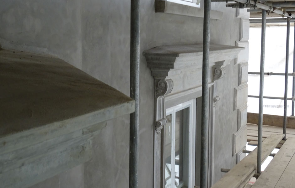 48 Phillimore Gardens Architectural External Mouldings
