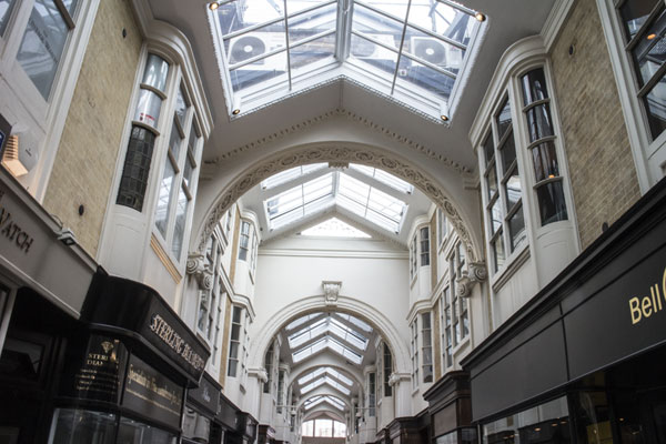 Burlington Arcade Restoration of Mouldings