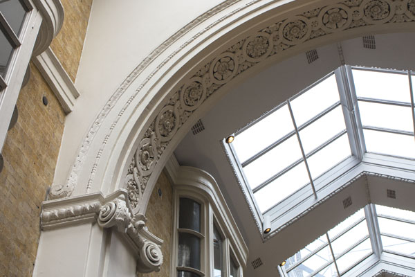 Burlington Arcade Arch Moulding Restoration