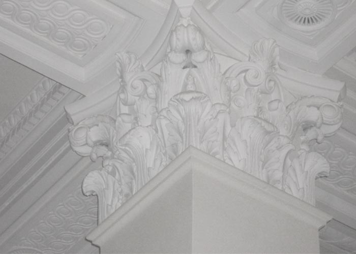 Exterior: Replication Of Corinthian Capital Column In Central London