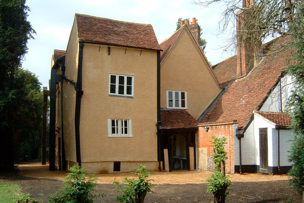 Headstone Manor Lime Plasterwork