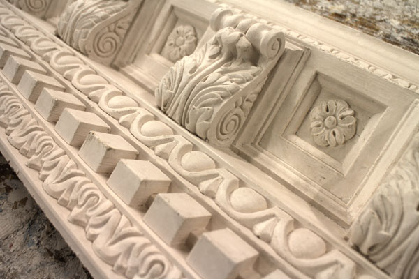 Trinity Square Modillion Block Cornice