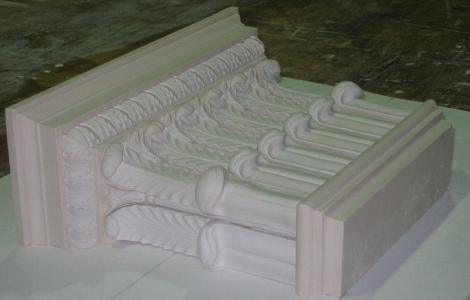 Adam Ceiling Restoration Pilaster Capitol