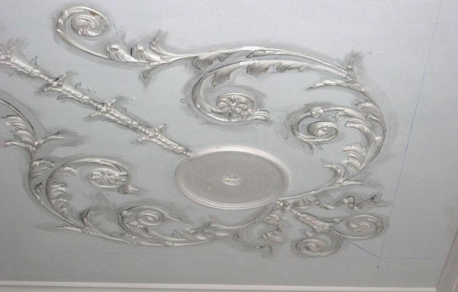 Adam Ceiling Restoration