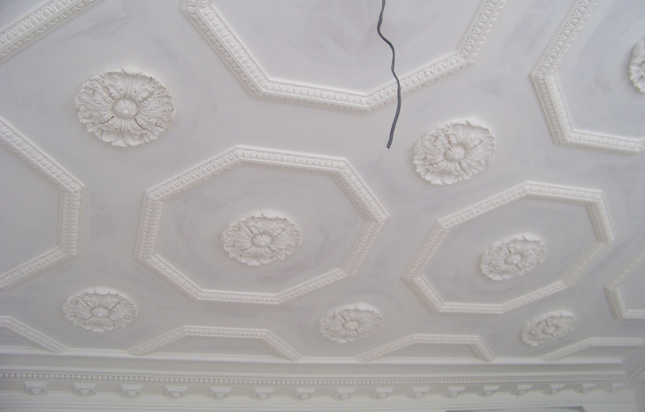 Bespoke Plaster Ceiling Chester Street