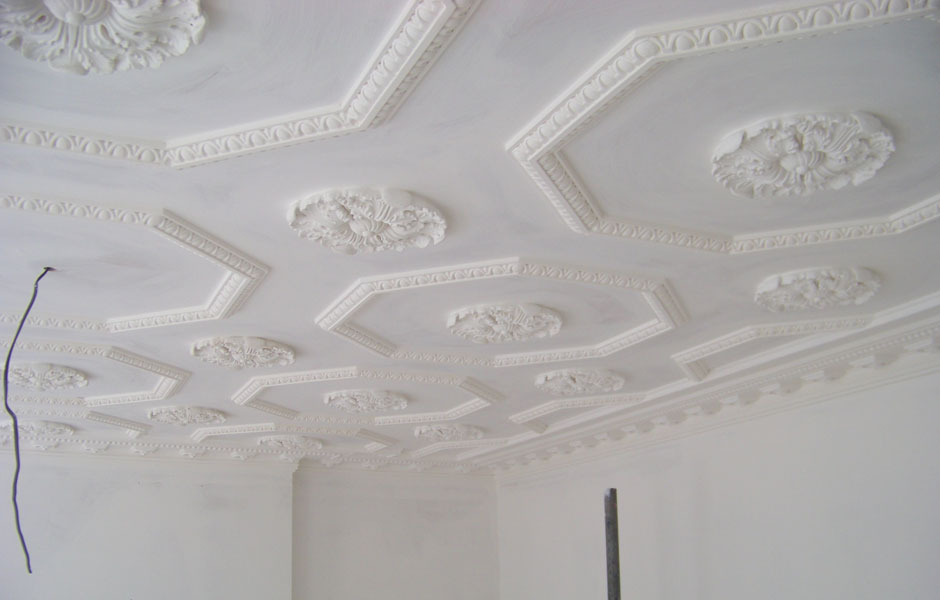 Flat View of panels and Cornice