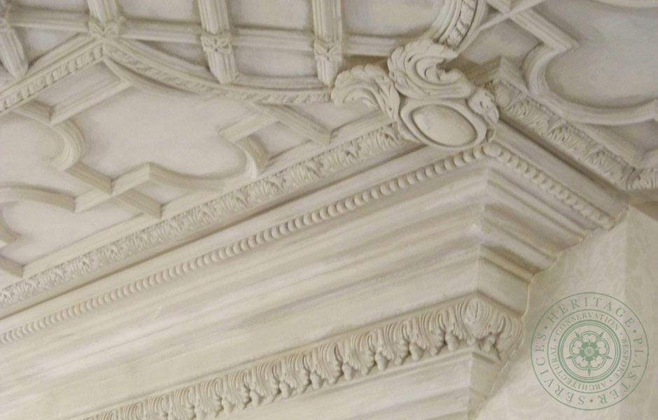 Ceiling in the Mari Vanna Restaurant, London
