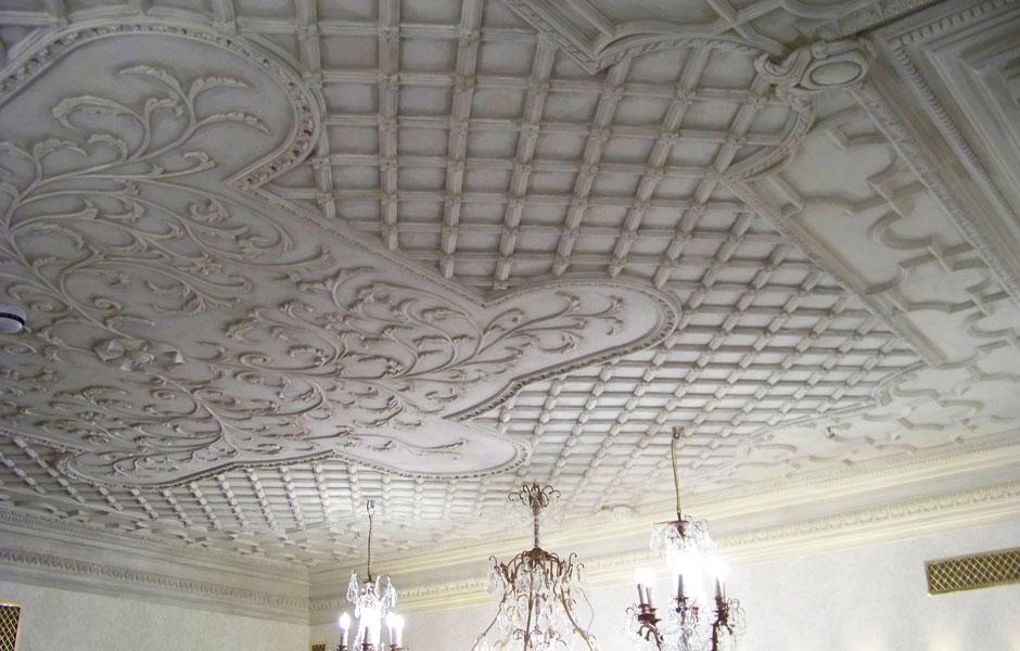 Mari Vana Restaurant Bespoke Ceiling
