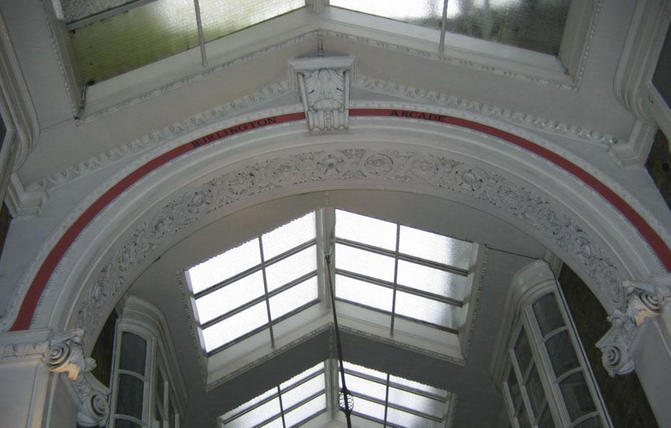 Burlington Arcade Before Restoration