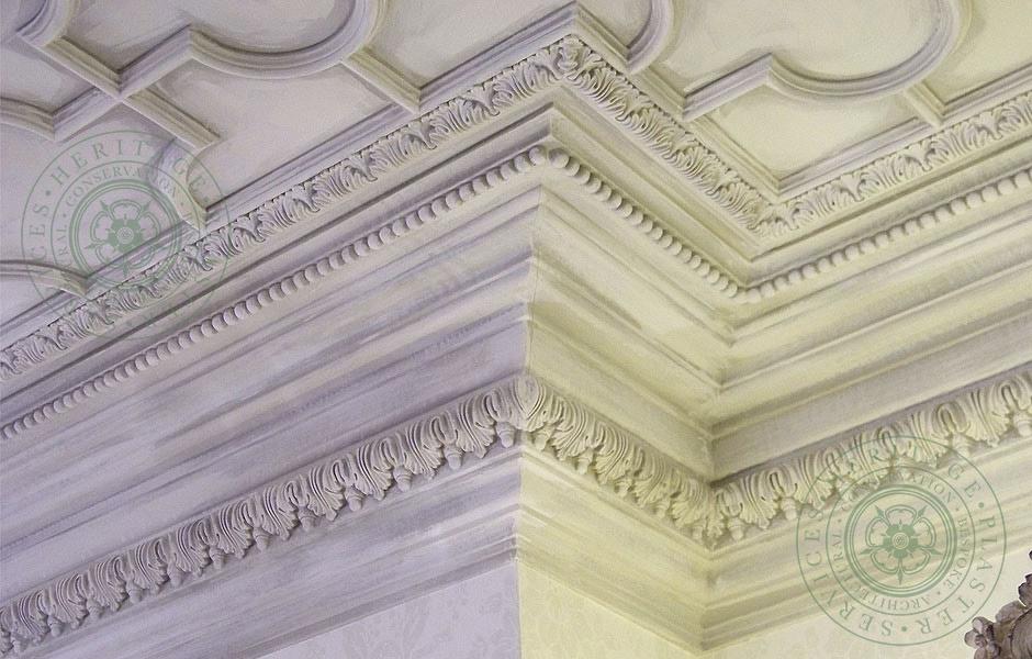 Mari Vana Restaurant Bespoke Plaster Ceiling