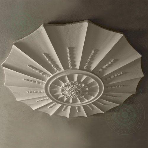 CR8 Adams Design Ceiling Rose Ceiling View