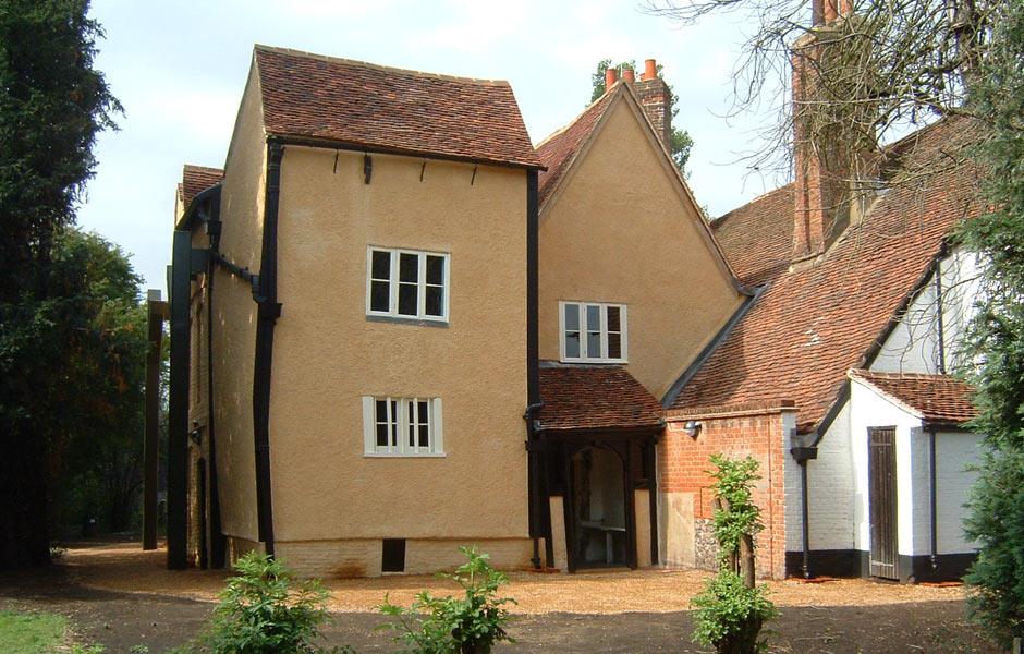 Headstone Manor Lime Plastering