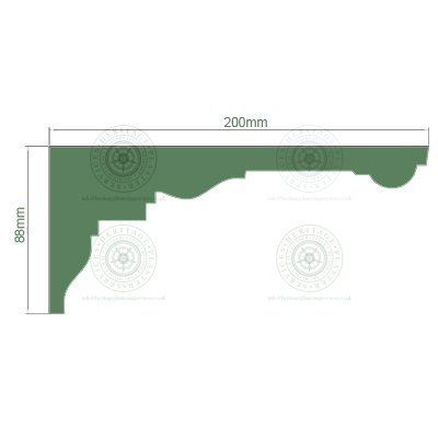 HPS5 Cornice Dimensions