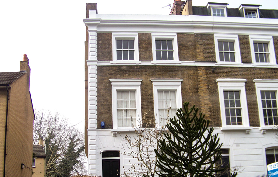 Lauriston Road, Hackney External Mouldings